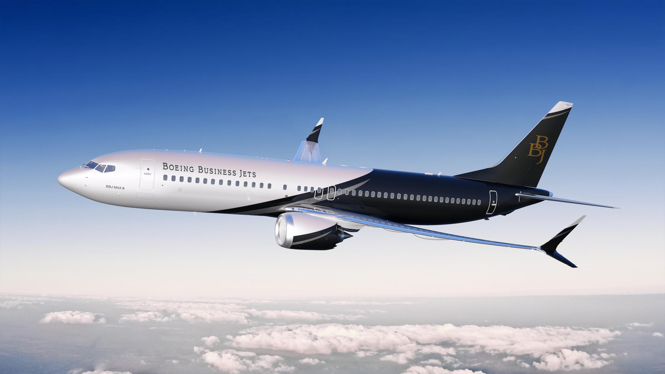4 - Boeing Business Jet