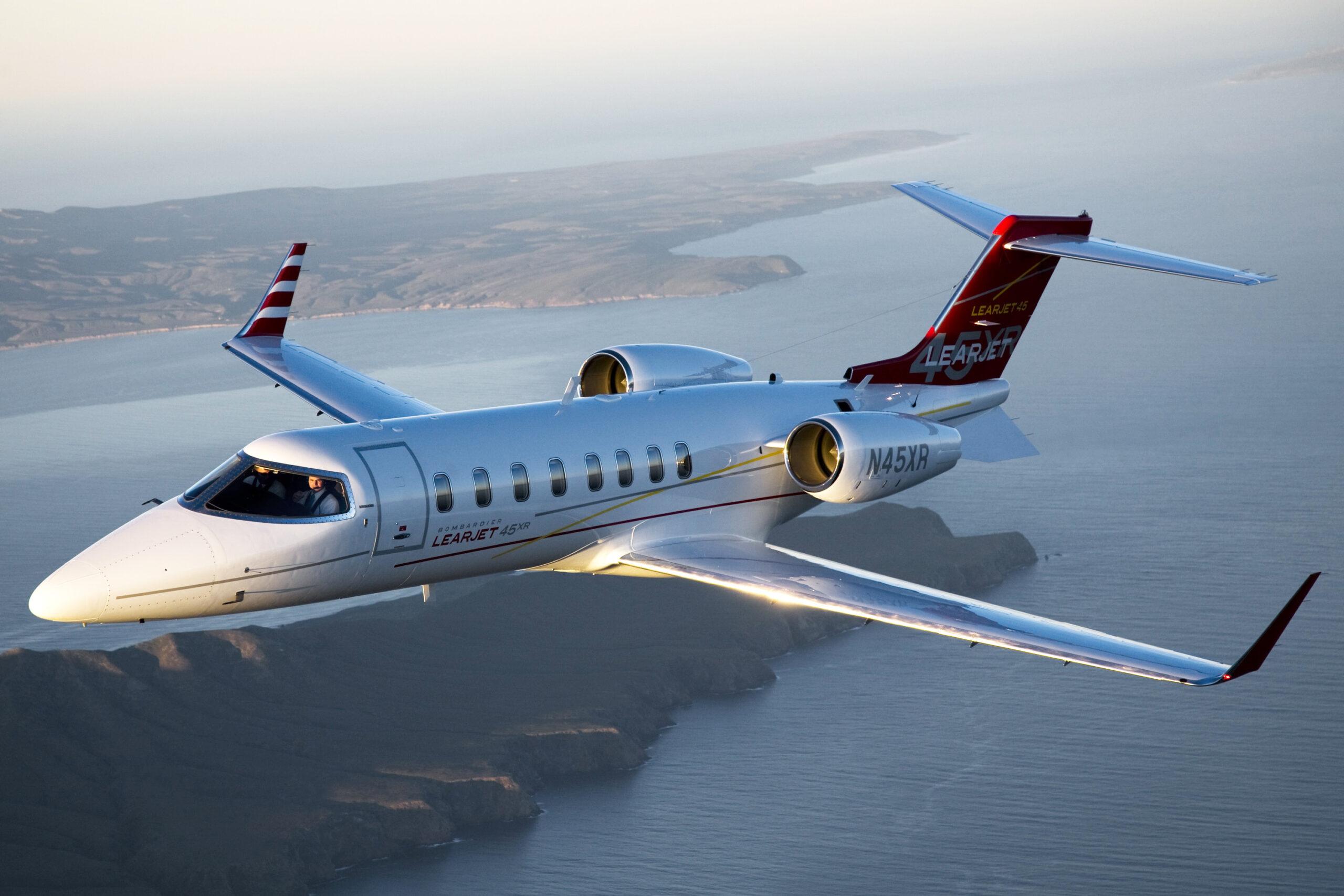 BOMBARDIER LEARJET 45XR 1 scaled - Bombardier Learjet 45XR