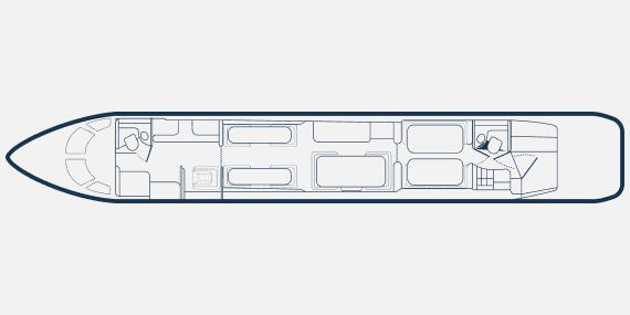 Global 6000 ноч - Bombardier Global 6000