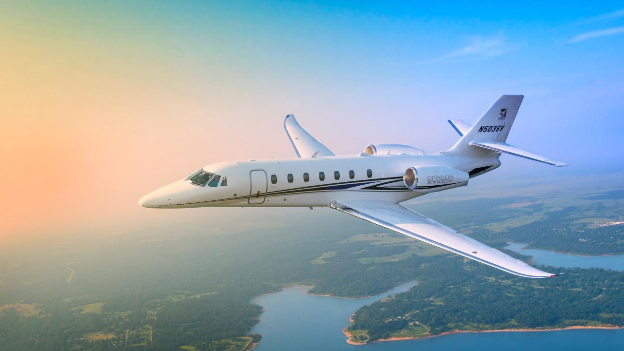 CESSNA CITATION SOVEREIGN - Cessna Sovereign
