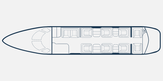 Cesna XLS - Cessna Citation XLS +