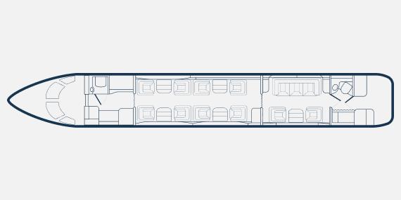 challenger 850 2 1 - Bombardier Challenger 850