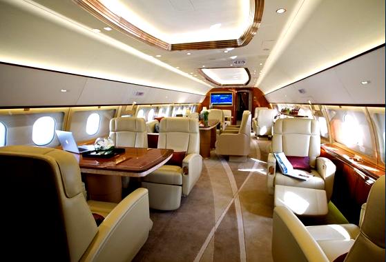 1 фото салон AIRBUS A 319 CJ - A319CJ Corporate Jetliner