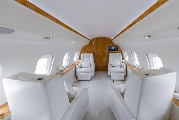 1 фото салон BOMBARDIER GLOBAL 6000 - Bombardier Global 6000