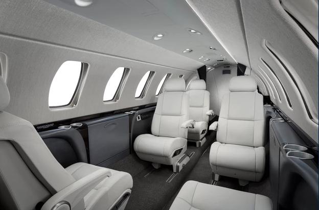 1 фото салон - Cessna Citation CJ3