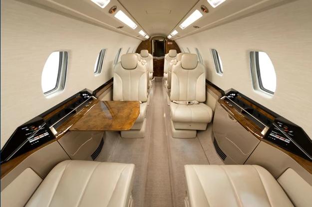 1 фот салон - Cessna Sovereign