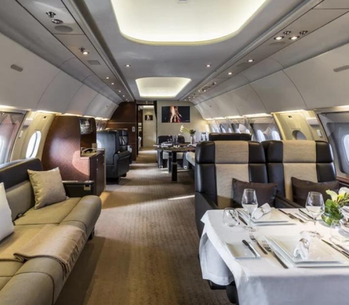 AIRBUS A318 ELITE салон - Airbus A318 Elite