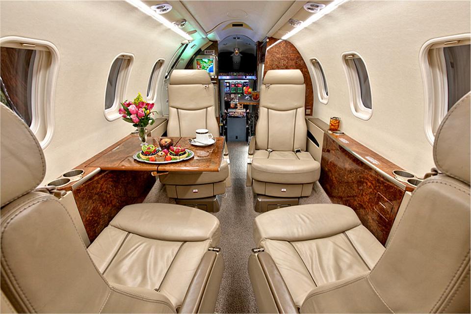 learjet 45xr int 2 - Bombardier Learjet 45XR