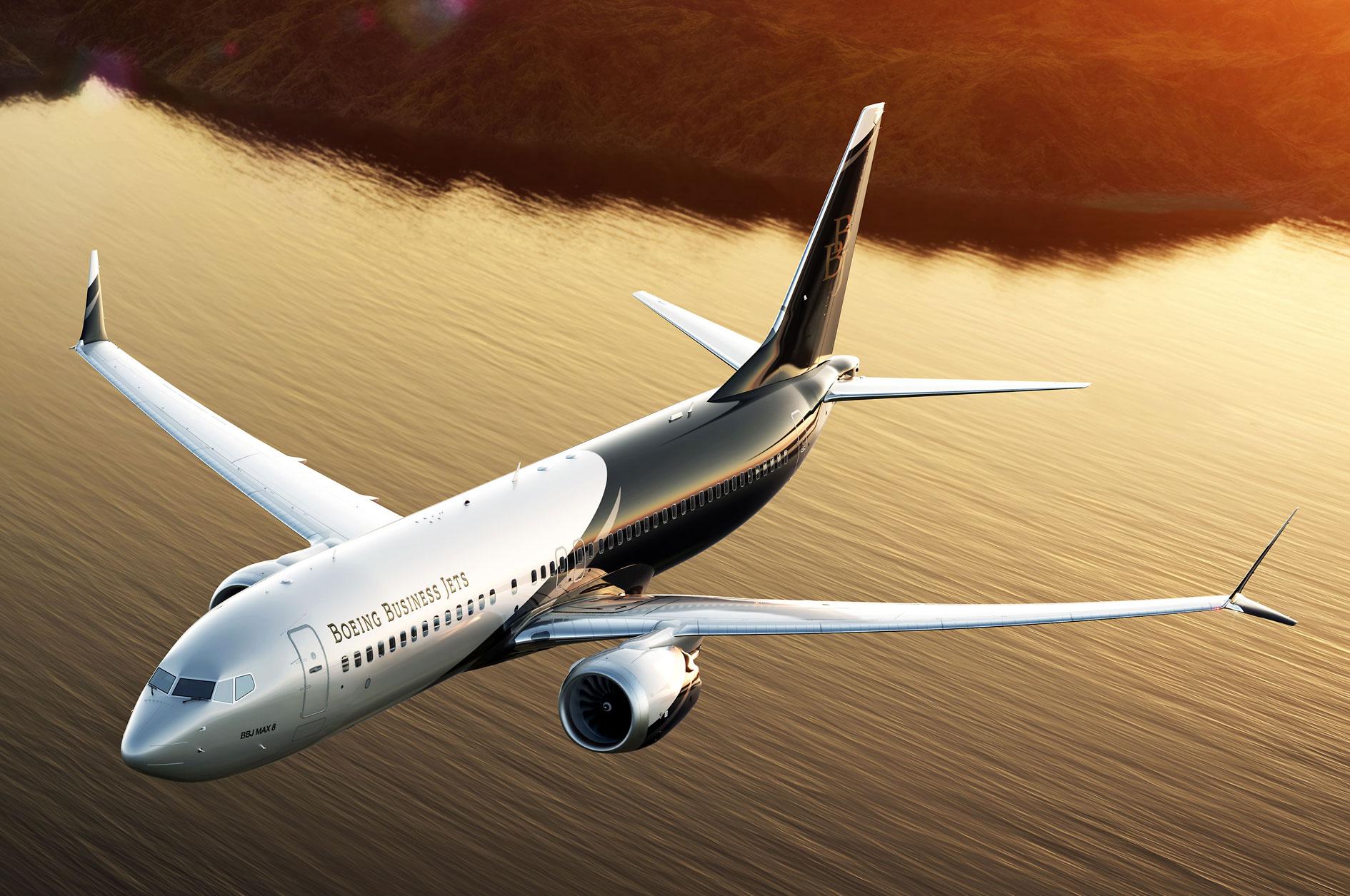 ultimate jet news bbjmax8 1 - Boeing Business Jet
